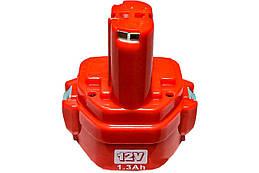 Аккумулятор для шуруповерта Асеса Makita 12В x 1.3Ач Ni-Cd МК12 1.3, КОД: 1521988