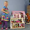 Деревянный дом для кукол с мебелью Байковый ECOTOYS, фото 2