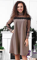Нарядное платье с сеточкой 037 В /02, фото 1