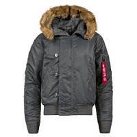 Оригінальна куртка аляска Alpha Industries N-2B Parka MJN30000C1 (Gun Metal)