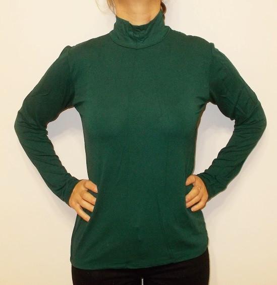 Гольф котон Турция размер 48-52 код 1050 зеленый