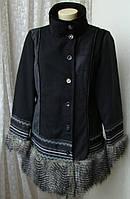 Пальто женское нарядное модное бренд Sha&Sha р.48 4247, фото 1