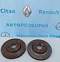 Тормозной диск для Рено Трафик Renault Trafic 2014-2019 г. в., фото 2