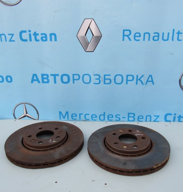 Тормозной диск для Рено Трафик Renault Trafic 2014-2019 г. в.