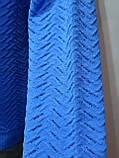 Шерстяной мужской теплый гольф Vip Stones Турция Синий, фото 7