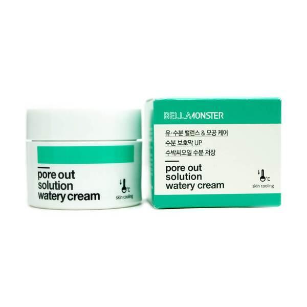 BellaMonster Pore Out Solution Watery Cream Крем от расширенных пор, 50 мл