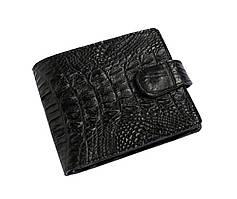 Гаманець зі шкіри крокодила Чорний (cw 122)