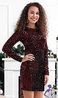 Праздничное платье с пайетками   038 В /02, фото 1