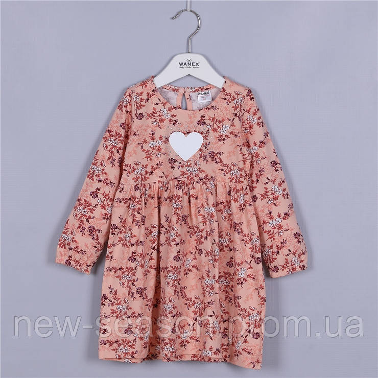 Платье с длинным рукавом Wanex EL-2-40780  92-110