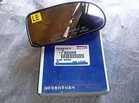 Стекло правого зеркала Daewoo Nubira I (J100) без подогрева