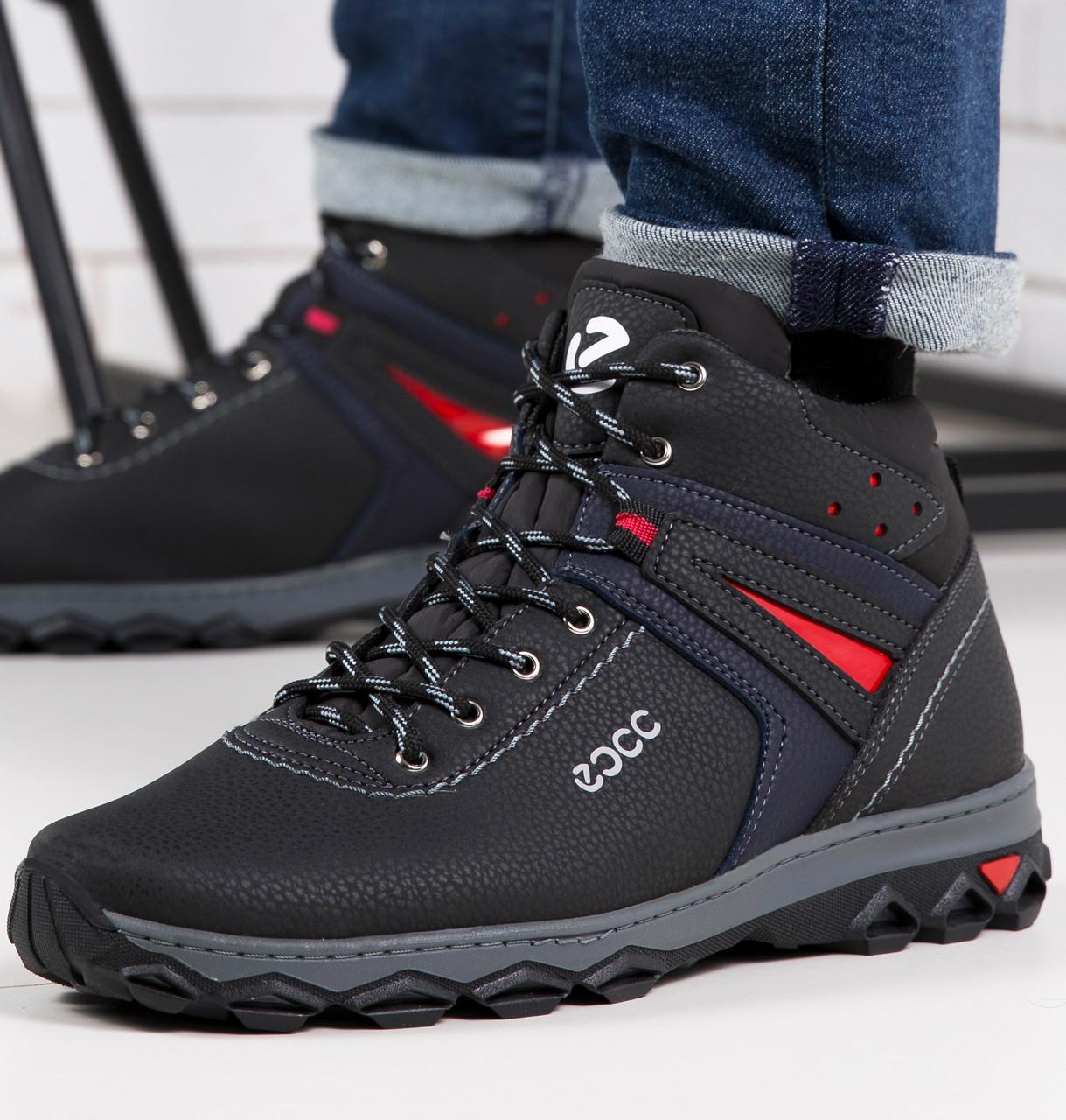 Мужские зимние ботинки львовской фабрики 40р