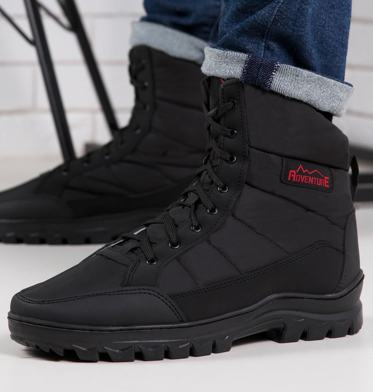 Ботинки мужские высокие чорние -20°C