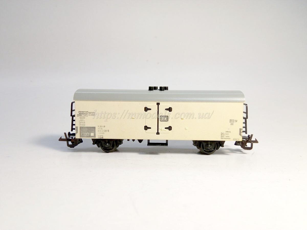 BTTB 2х осный вагон ледник принадлежности DB, масштаба 1:120, ТТ
