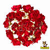 Гвоздика красная Декоративный букетик 1.5 см диаметр 10 шт/уп