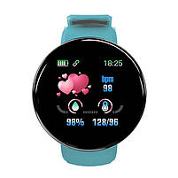 Смарт-часы Smart Watch D18 Green Bluetooth Android IOS, фото 3