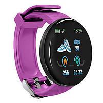 Смарт-часы Smart Watch D18 Violet Bluetooth Android IOS, фото 2