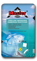Гидроизоляционная смесь Мастер-Барьер, 25кг