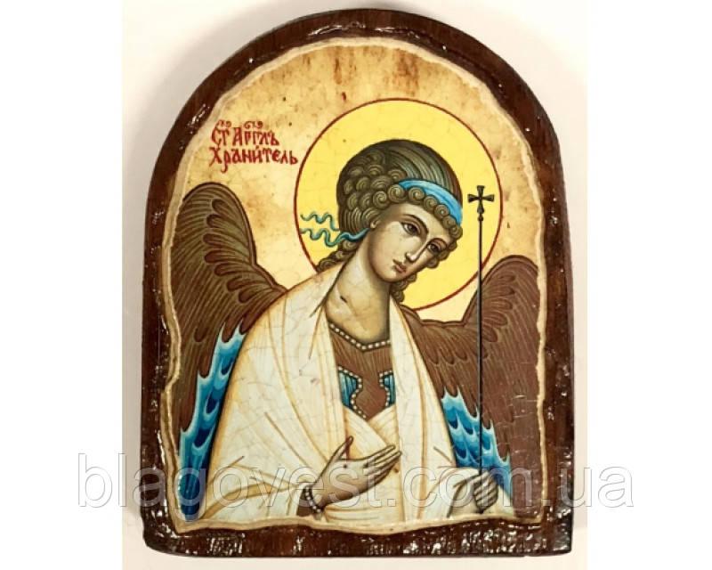 Икона под старину на левкасе (Арка 8х10см)