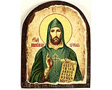 Икона под старину на левкасе (Арка 8х10см), фото 3