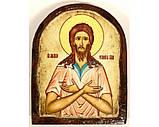 Икона под старину на левкасе (Арка 8х10см), фото 5