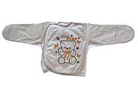 Распашонка теплая для новорожденных (футер), фото 1
