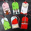 Набор детских новогодних ярлычков для подарков (6 шт.), фото 3