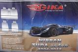 Авточехлы Nika на Nissan Tiida 2004-2012 sedan,авточехлы Ника на Ниссан Тиида 2004-2012 года седан, фото 2