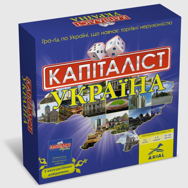 Настольная игра Arial Капиталист Украина (4820059910824)