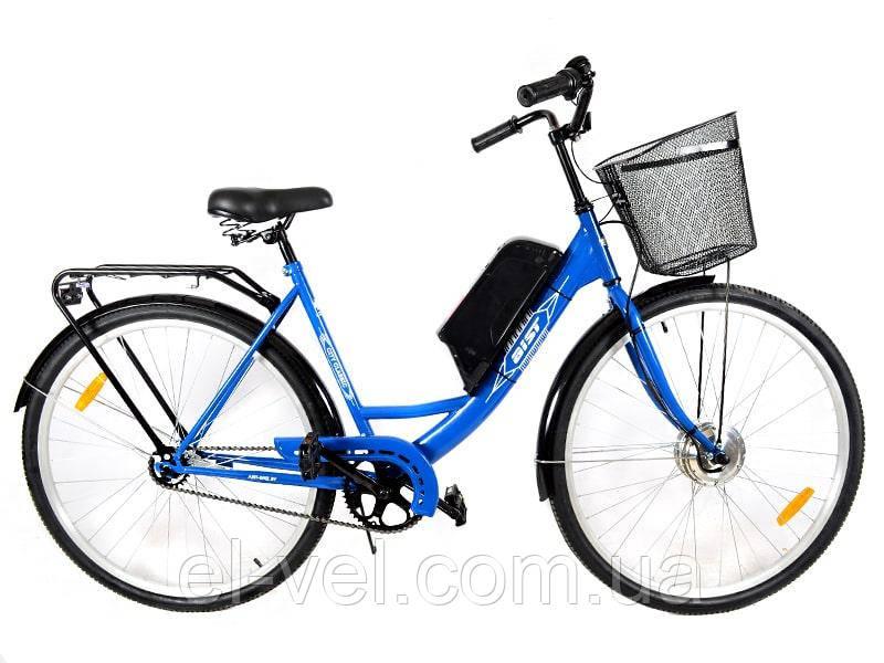 Электровелосипед АИСТ 28 XF15 48В 500Вт литиевая батарея
