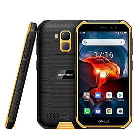"Смартфон Ulefone Armor X7 Pro Orange 4/32Gb NFC 5"" 4000мАч IP68 новые в наличии"