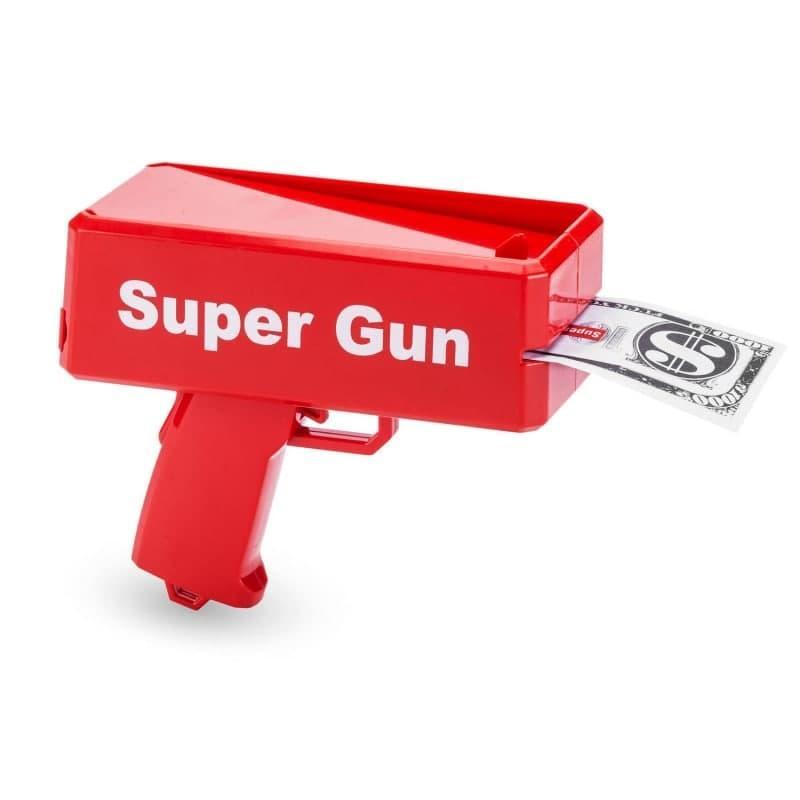 Пистолет для денег Super Gun Money Gun
