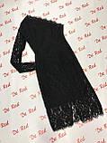 Вечернее черное платье на одно плечо, Новый Год 2021, будьте неотразимы! р.44-46 Код 245Т, фото 9