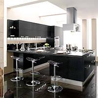 Кухня с стиле  Hi-Tech  под заказ, фото 1