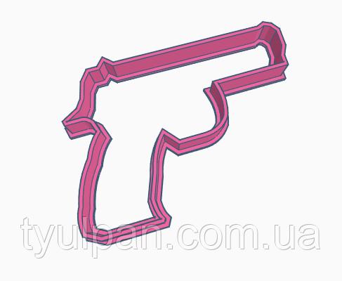 Вырубка кондитерская для пряника  11*9 см пистолет