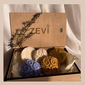 Твердые натуральные шампуни ZEVI
