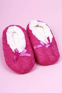 Тапочки-чуни детские девочка малиновые ABC 123814P