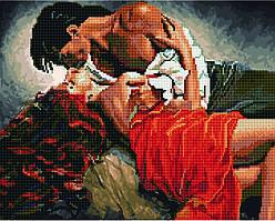Алмазная картина-раскраска Влюбленные Страсть 40х50 см в коробке, BrushMe (GZS1045)