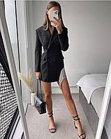 Нарядное женское платье пиджак 42-44 46-48