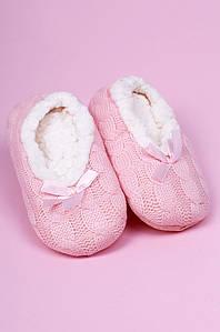 Тапочки-чуни детские девочка розовые ABC 123809P