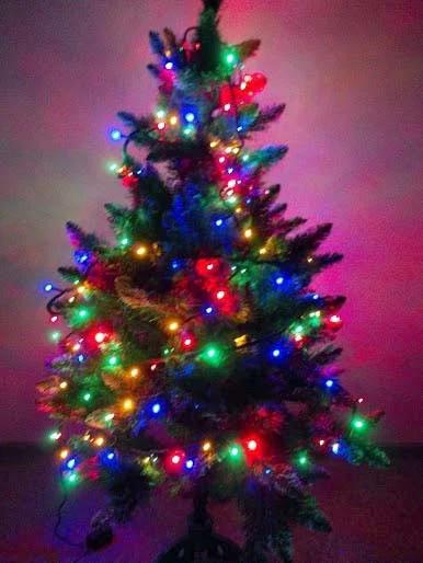 Гірлянда новорічна світлодіодна на ялинку нитка 7м \ 14м \ 18 \ 23м \ 27м