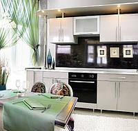 Кухня с пластиковыми фасадами, фото 1