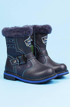 Ботинки детские зимние темно-синие Calorie 123071M