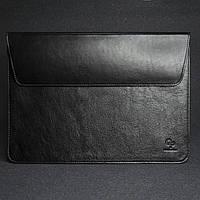 Шкіряний чохол для MacBook 13', чорний