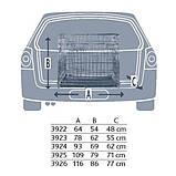 Транспортная клетка для собак TRIXIE (Трикси) металлическая с 2 дверьми, 64*54*48 см, фото 2