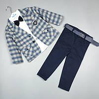 Костюм детский тройка нарядный оптом для мальчика 2 года Турция 3935