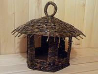Кормушка плетёная для птиц