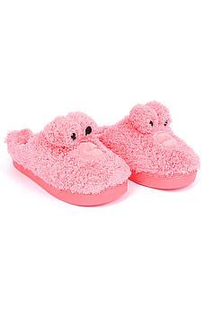 Тапочки комнатные детские розовые AAA 126545M
