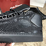 Balenciaga Arena Crocodile High Top Sneakers Black, фото 3