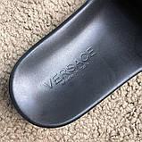 Versace Slide Sandal Medusa Black, фото 3