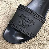 Versace Slide Sandal Medusa Black, фото 4